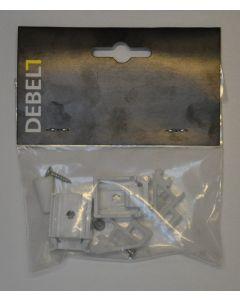 Kit-sæt foldegardin m/snoretræk