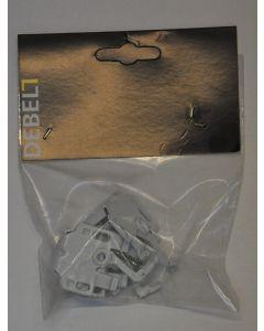 Kit-sæt beslag til foldegardin med kædetræk