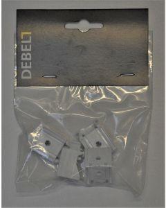 Kit-sæt beslag til foldegardin med snoretræk